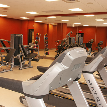 Does Cambria Hotel College Park have a fitness center?