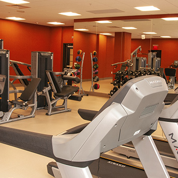 What are some of the property amenities available at Cambria Hotel College Park?